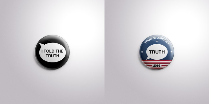 The first 2 buttons from the button set