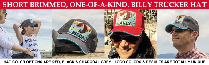 ONE-OF-A-KIND BILLY TRUCKER HATS