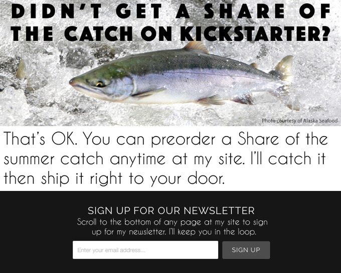 Salmon & Sable: Alaskan Seafood Shares by Traveler Terpening