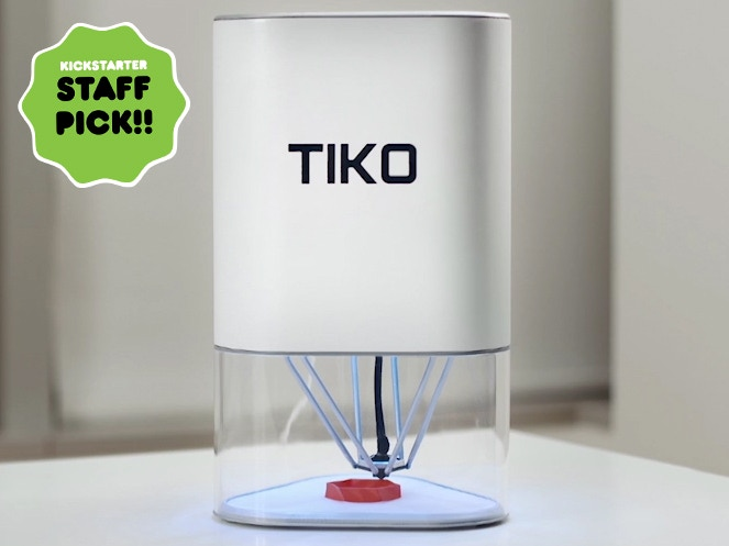 Tiko is the 3D printer you've been waiting for. Simple, accessible, and dependable, all for a pledge of $179.