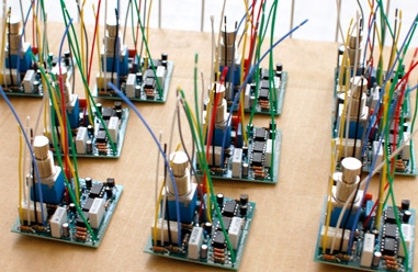 Hand assembled circuit boards...