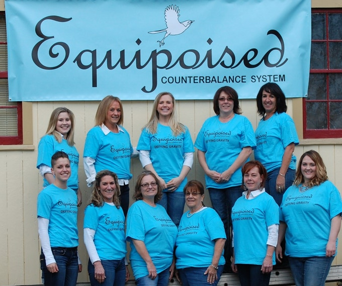 Some of the ladies who tried Equipoised.