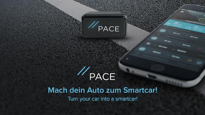 PACE verbindet dein Auto mit deinem Handy und macht Autofahren sicherer, stressfreier & günstiger | PACE turns your car into a smartcar