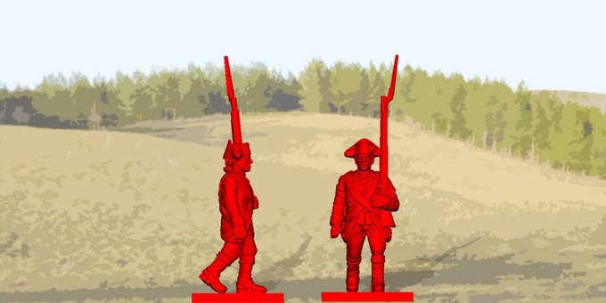 Sample of British Infantry