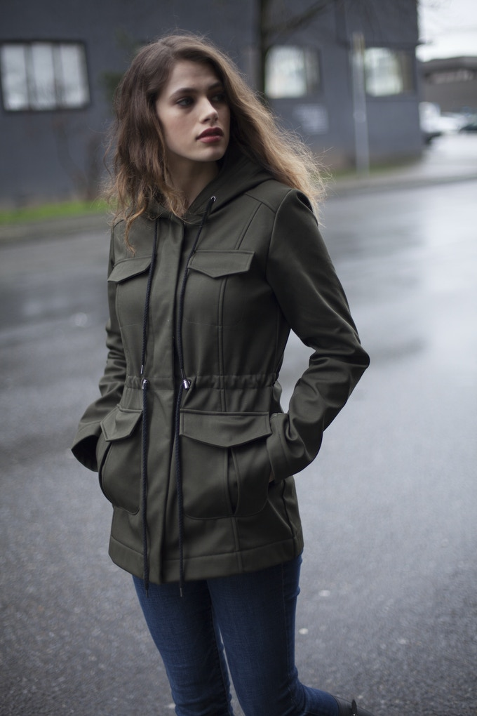 Mia Melon Ryder Jacket - Cotton Weatherproof!