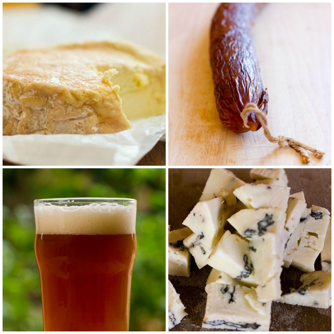 Now you can ferment beer, salamis, or age cheese right in your own home with the Cave.