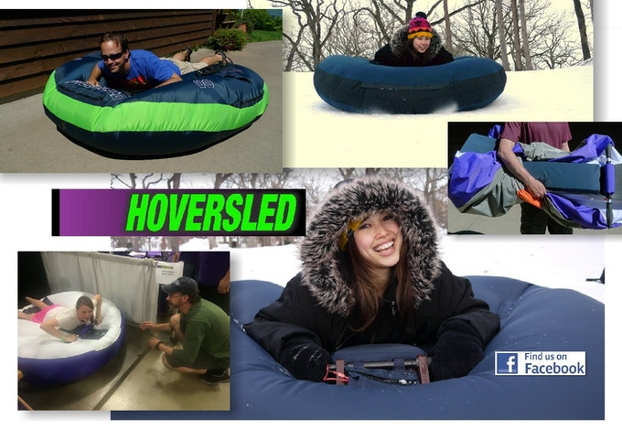 The amazing Hoversled! Now available as a kit!