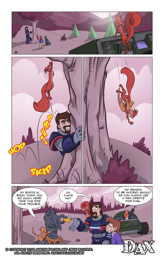 Dax #6 page 9 - Decent Deeds Done Pretty Cheap