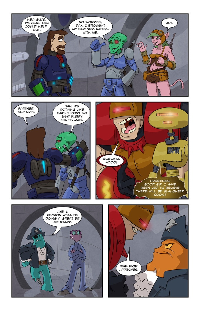 Dax #5 page 19 - Fast Times at Arjnod High