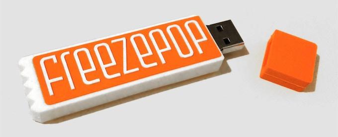 The cute lil' USB!