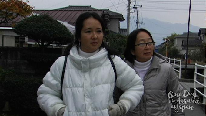 Sachiko and Daniella in Japan
