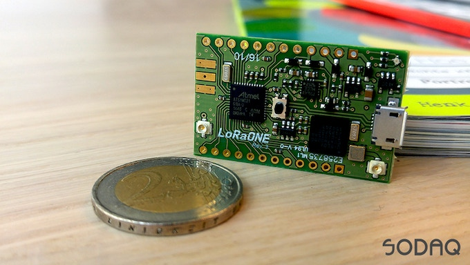 Small, yet versatile. LoRaONE brings IoT to life.