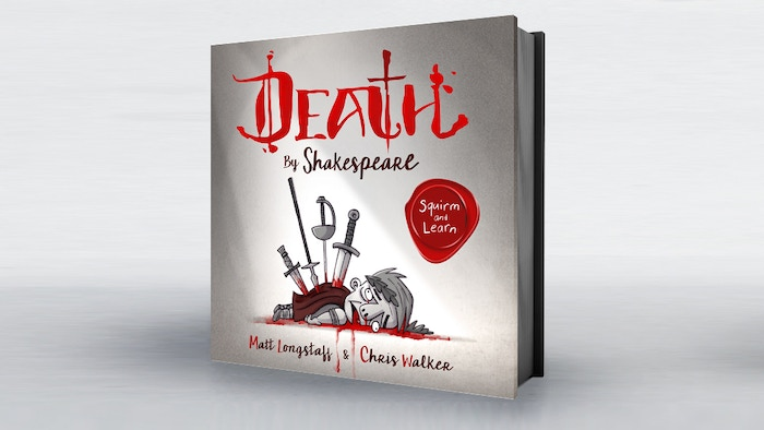 An illustrated collection of the best murders, deaths and suicides from the mind of Will Shakespeare to celebrate his 400th death-day