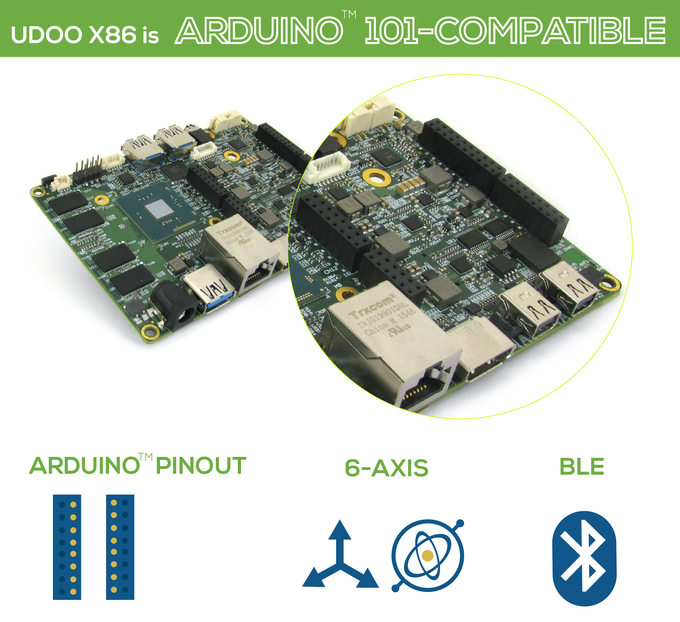 UDOO X86: The Most Powerful Maker Board Ever by UDOO — Kickstarter