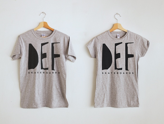DEF Skateboards T-shirts
