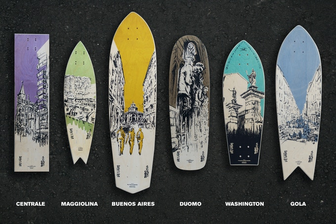 DEF Skateboards limited edition decks, signed and numbered