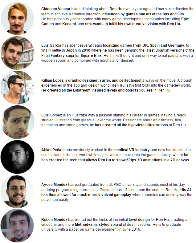 Lethal Games is surprisingly composed of actual people!