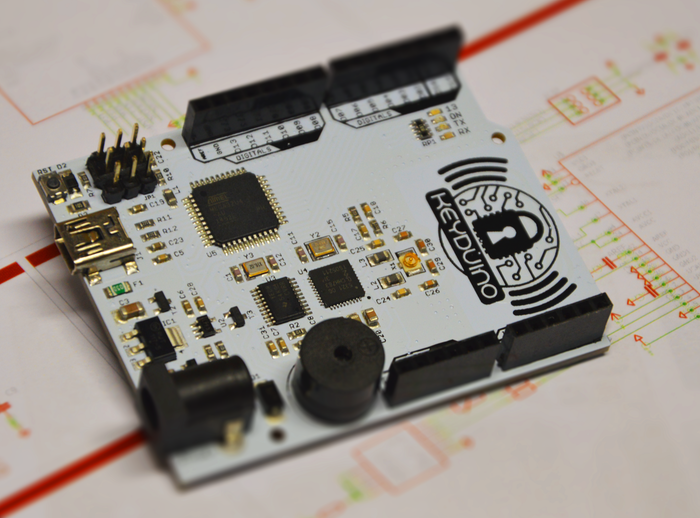 KeyDuino is the easiest way to build an NFC project with Arduino environment