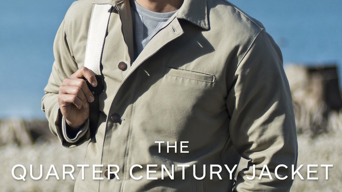 HELP US MAKE A BETTER JACKET: Made in America and backed by a 25 year guarantee.