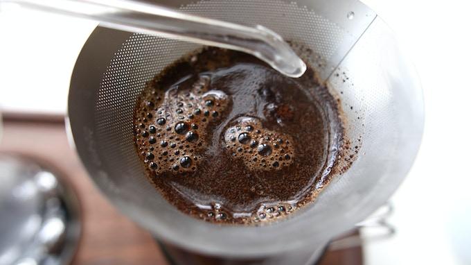 Filter vs Coffee Detail