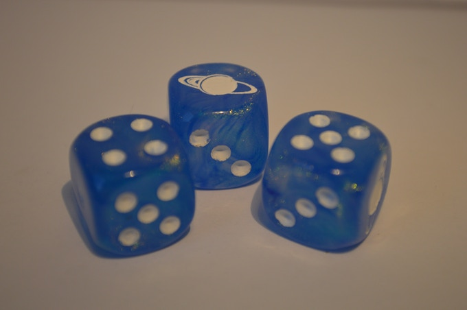 Tiny Frontiers Dice Prototype - by Chessex
