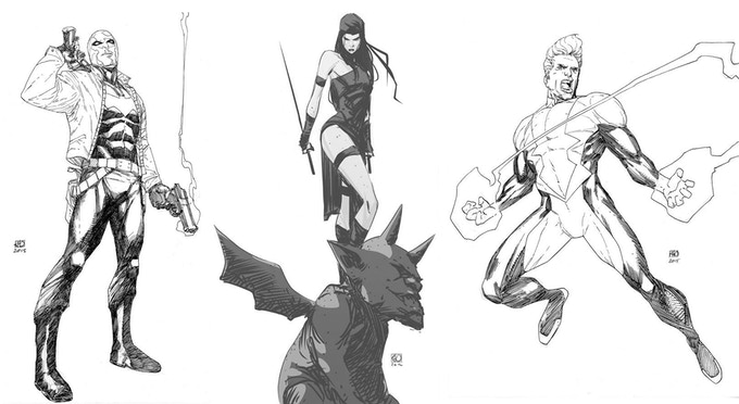 Khoi Pham Sample Sketches