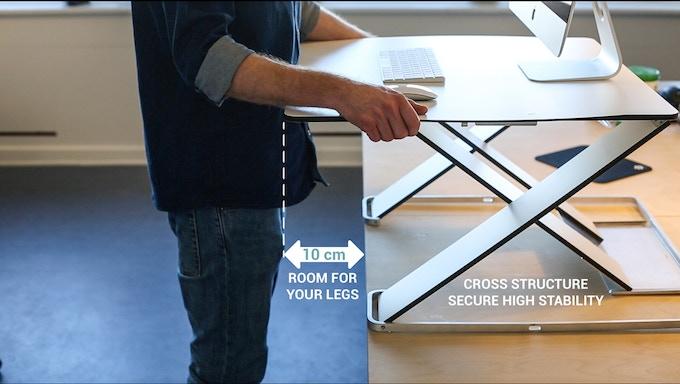 OPLØFT - makes room for your legs.