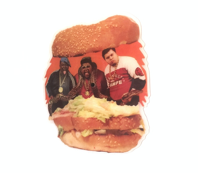 Fat Boys - Wipe Out! - Shaped Picture Disc