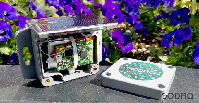 LoRaONE can be anything. Like a solar radiation sensor to measure at what sun intensity your plants grow the most.