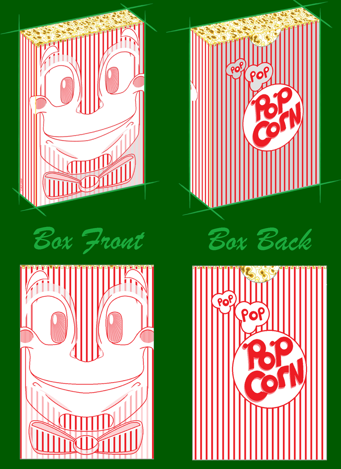 Artistic Rendition of Front and Back Box Art.