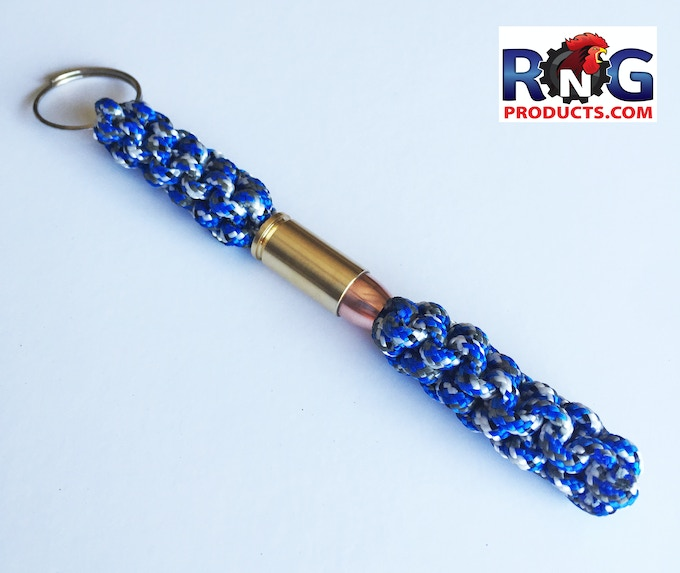 Rngproducts edc bullet lanyard bead bullet magnets by for Paracord keychain projects