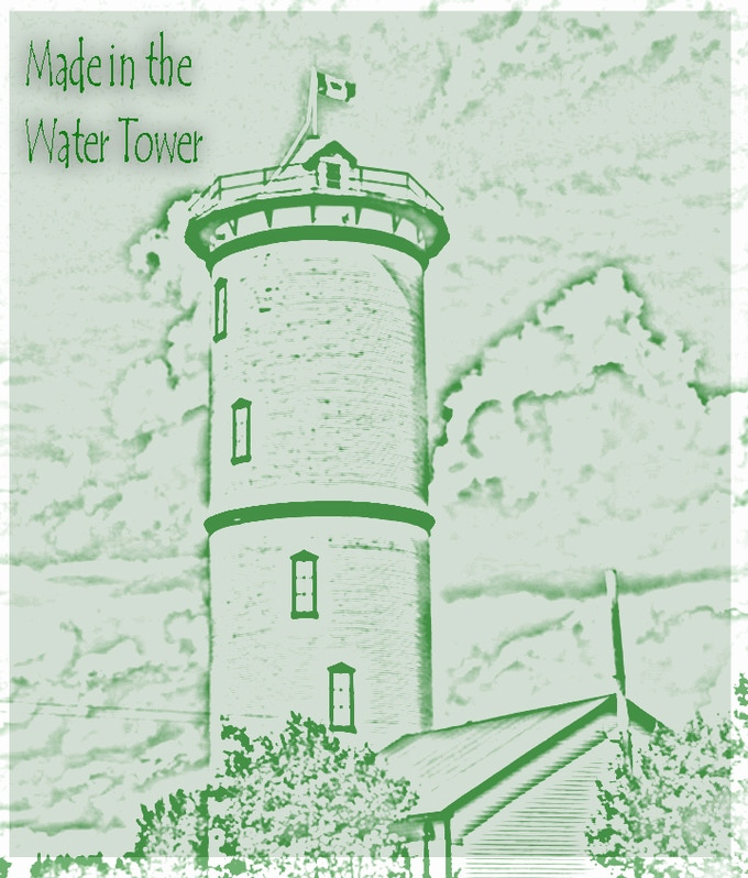Made in the Watertower mini-comics logo