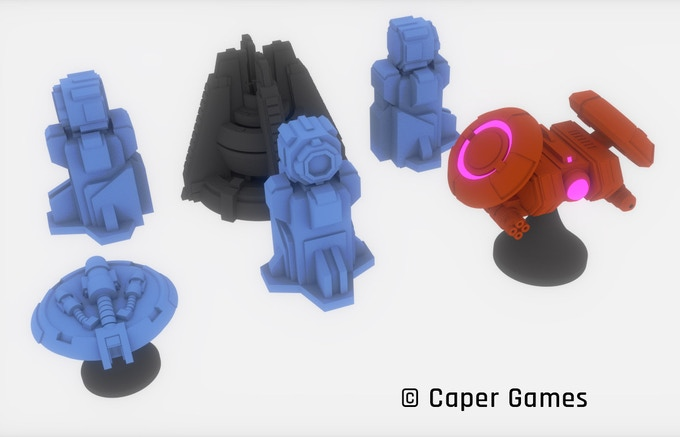 METTLE minis - Caper Games