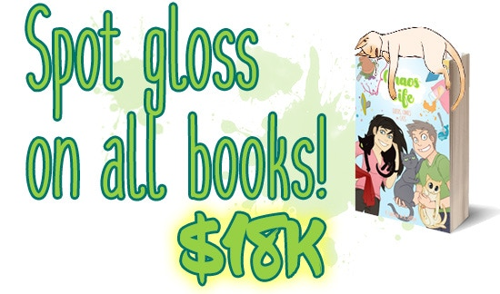 Spot Gloss On the Cover of Every Book!