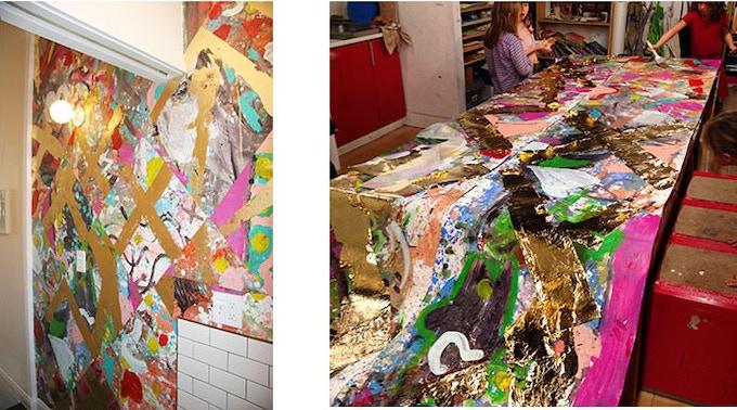 Wallpaper made by ArtShack kids