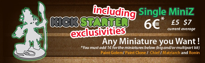 "You must check FAQ to order MiniZ if you have a ""Kadamas"" pledge."