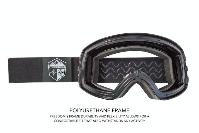 7e325281aa Freedom Optics Snow Goggles