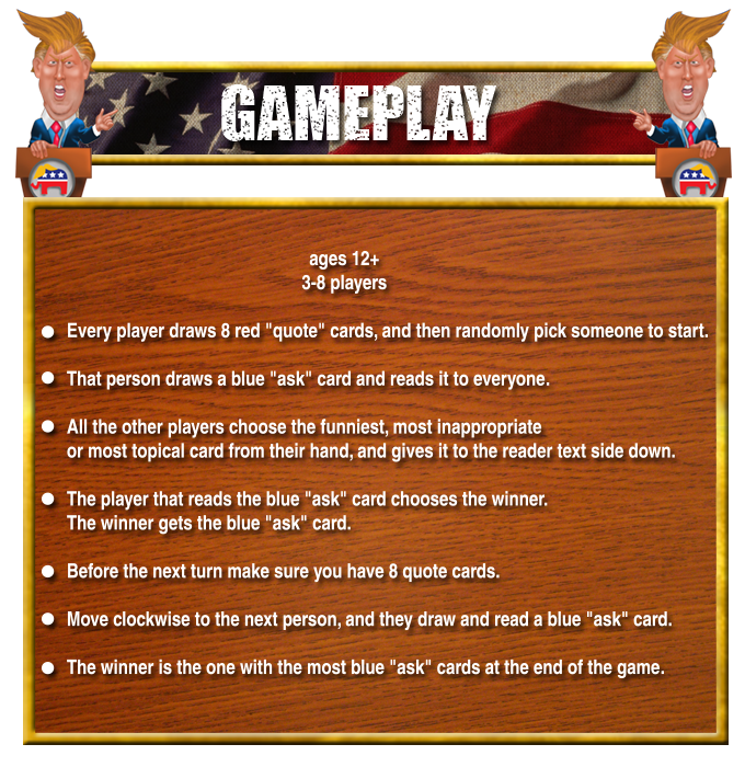 How to play the game, the rules are simple.