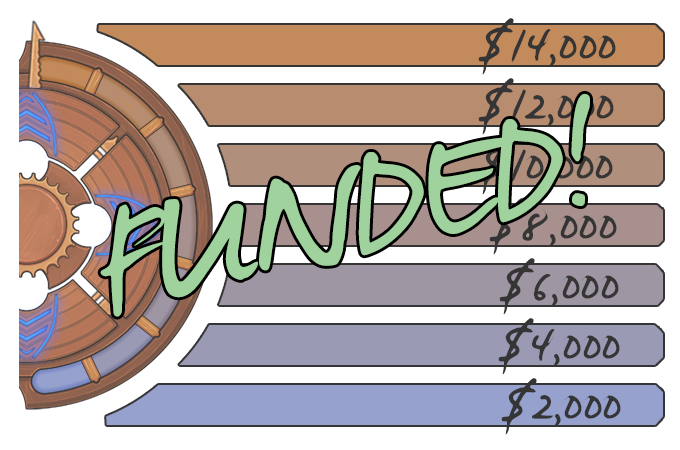 City of the Shroud is funded in just over a week!