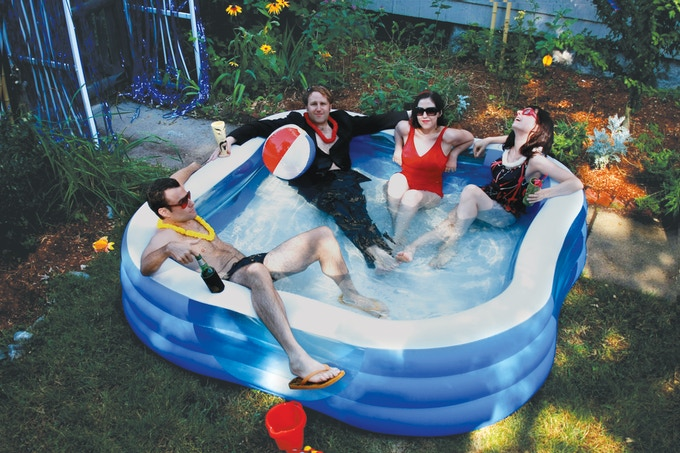 We promise we won't blow all the money on a bigger kiddie pool.