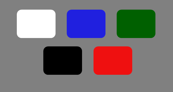OaSense Top Cover Color Options
