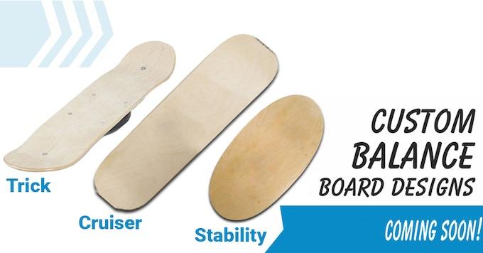 Choose Your Favorite Balance Board Shape