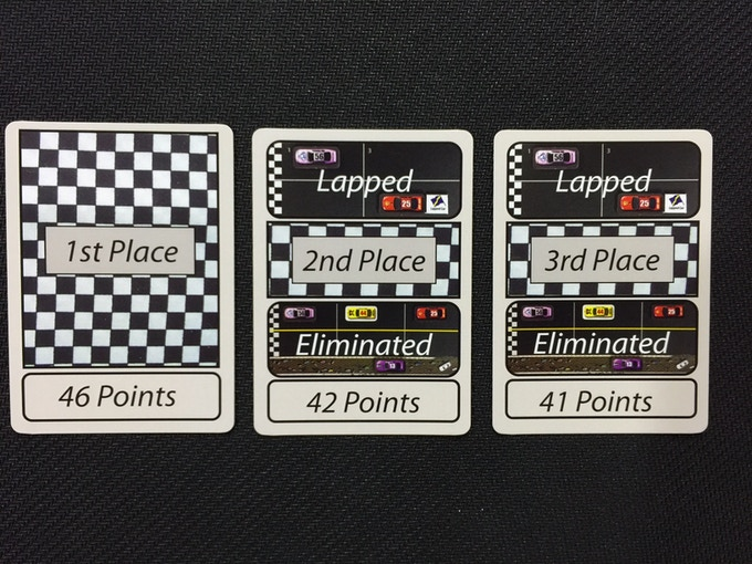 Race to the Finish Cards