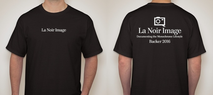 The exclusive Backer Tshirt
