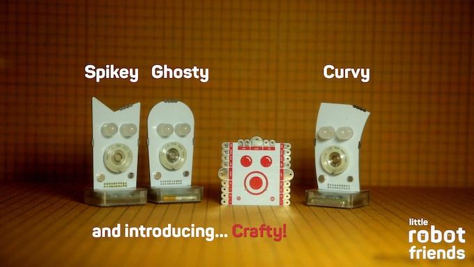 Meet the new Little Robot Friend family!