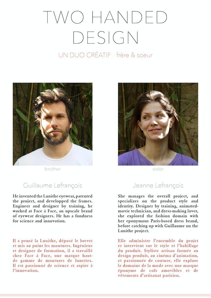 A two handed design - Un duo créatif
