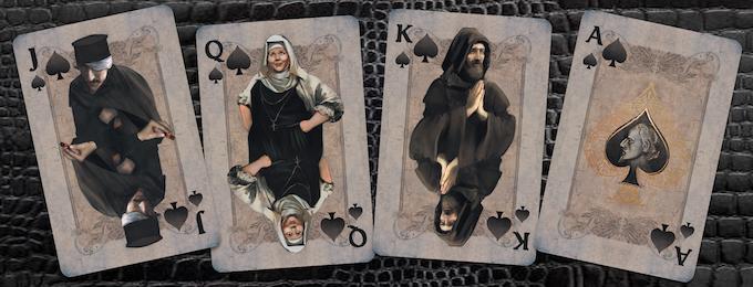 Spades: Apothecary, Nurse, Friar Lawrence