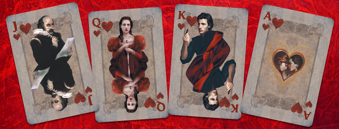 The Hearts:  William, Juliet, and Romeo