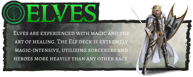Elves - Based on magic and healing
