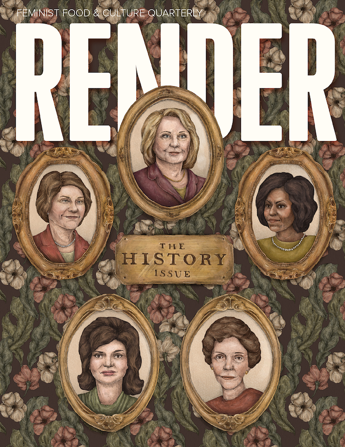 ISSUE #5: HISTORY. COVER ILLUSTRATION BY JESSICA ROUX
